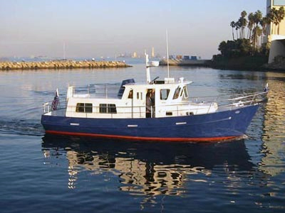 Seahorse COOT 35 trawler blue