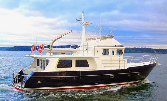 Seahorse yachts 52 cruising