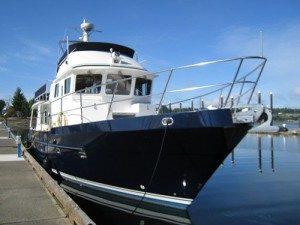 Seahorse yacht docked