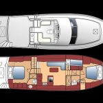 48 islander deck floorplan 1