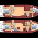 48 islander deck floorplan 2