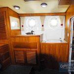 DD382 interior cabin aft sink