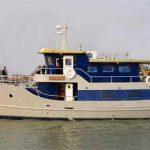 Diesel Duck Oceaneer 55 underway