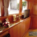 Novatech 46 salon starboard side