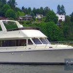 Novatech 46 exterior underway starboard