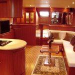 Islander 60 galley starboard