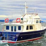 seahorse 52 trawler stern open water